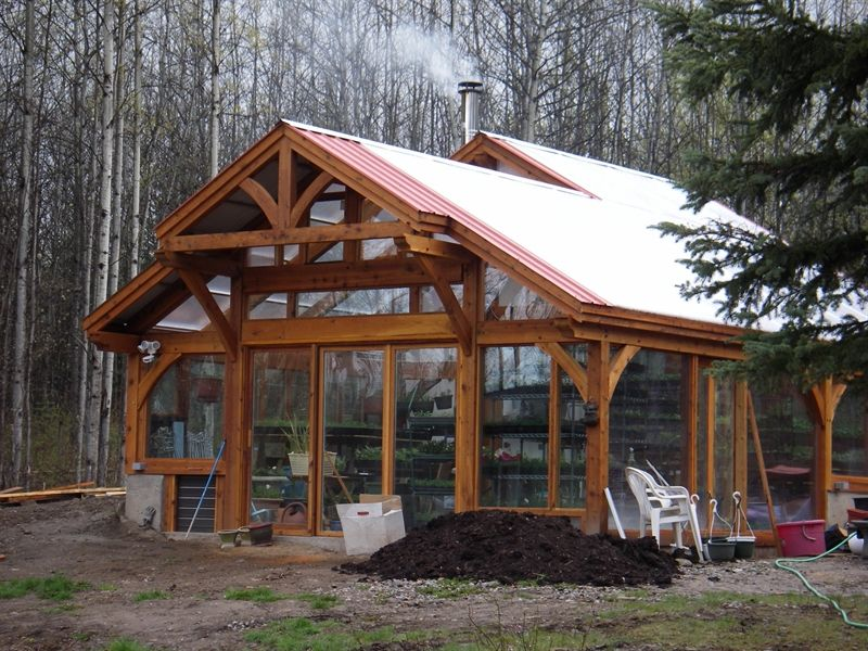 Devries Timber Frame Green Houses